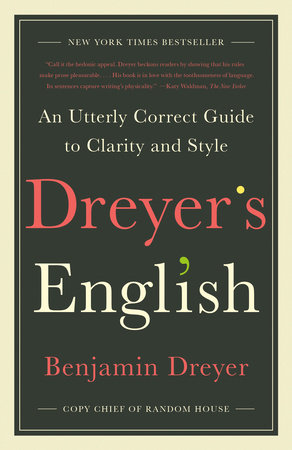 Book Cover: Dreyer's English