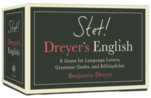 Book Cover: STET! Dreyer's English